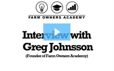 Interview with Greg Johnsson